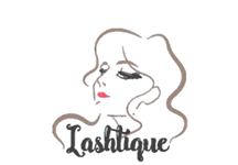 Lashtique Logo Featured Client